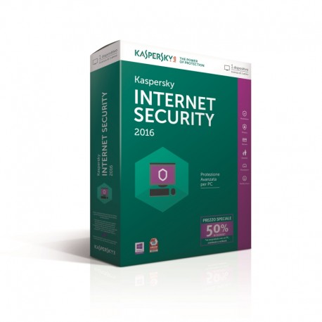 KASPERSKY INTERNET SECURITY 2015 1PC