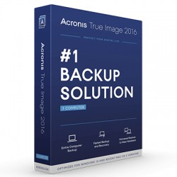 ACRONIS TRUE IMAGE 2016 BOX 1PC - SW BACKUP
